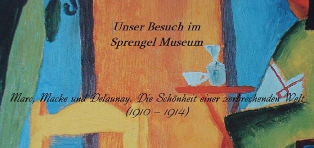 Besuch im Sprengelmuseum