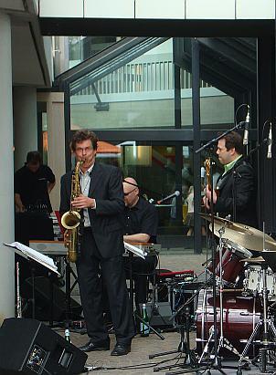 Musiker am Sprengelmuseum